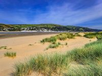 Aberdovey as seen from Borth Beach